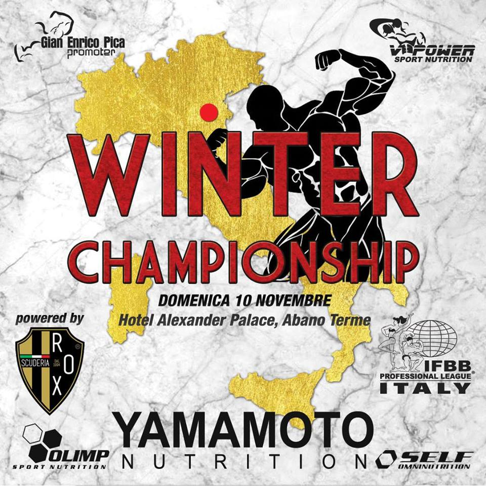 IFBB Pro League Regionals Padova - Winter Championships