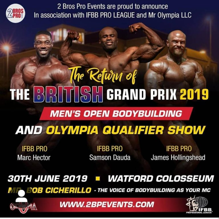 The British Grand Prix 2019 by 2 Bros Pro Events