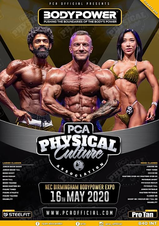 PCA Bodypower International Open